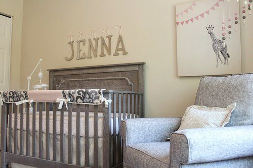 Nest Juvenile convertible emerson crib. Little castle belmont glider, Bebe Chic custom bedding
