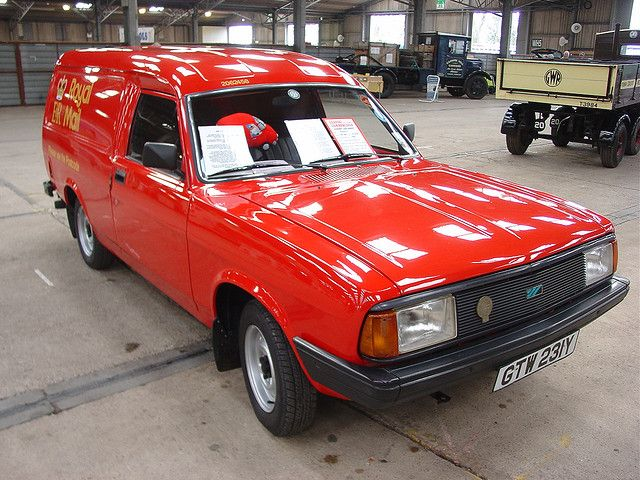 GTW 231Y - 1983 Morris Ital 440 Royal Mail van | by homer----simpson