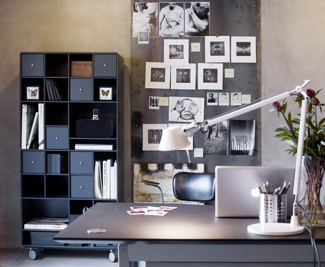 Perfect for the office! Design your own ABC Quadrant shelving system at www.abc-reoler.dk