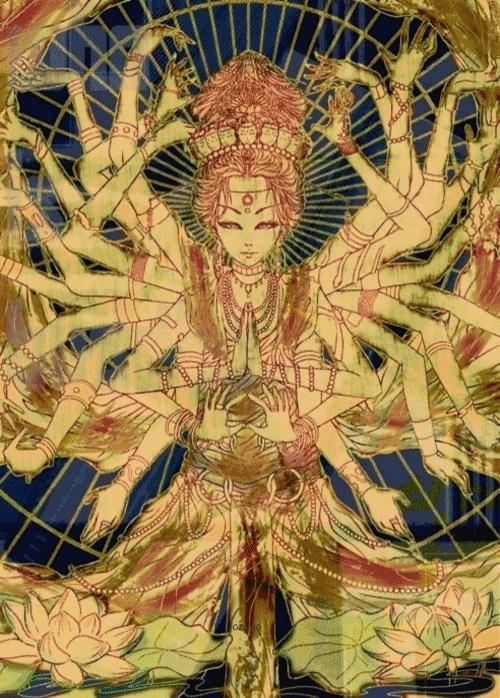 Kali- goddess of time, change, and destruction