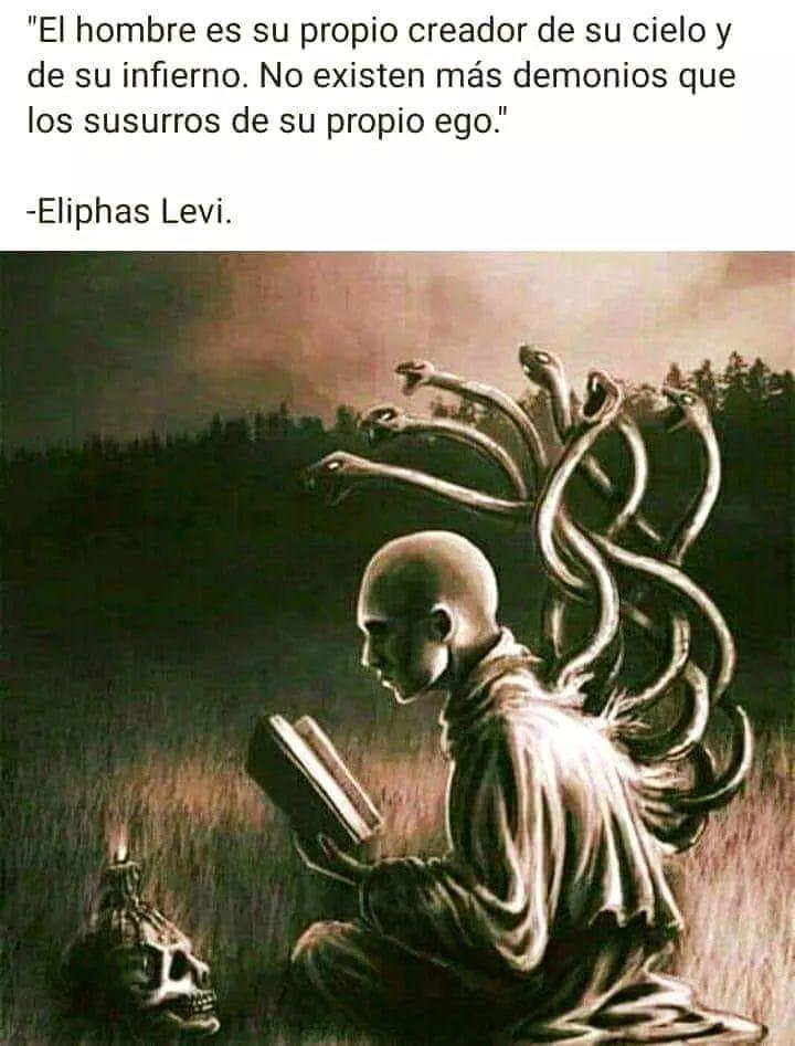 El Hombre Es Su Propio Creador Eliphas Levi Frases