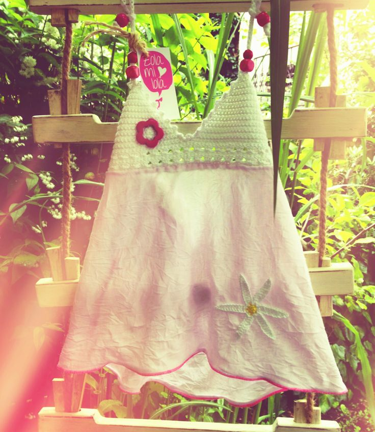 Summer Zolamilola crochet top with flowers and beads