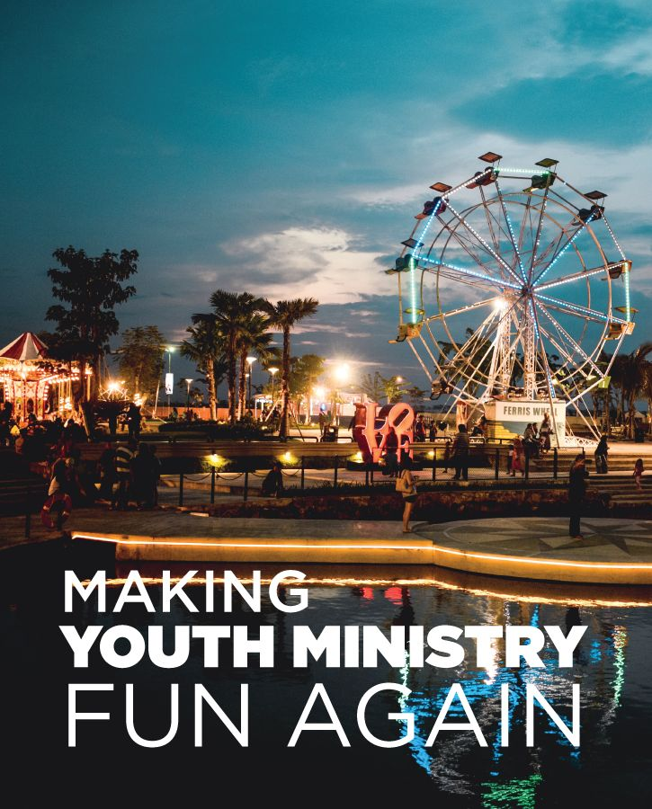 Why can't our youth ministry environments be fun places to be?  Here are some simple tips to keeping the fun in your youth ministry.