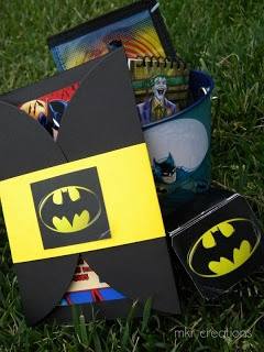 MKR Creations: Batman Party Theme