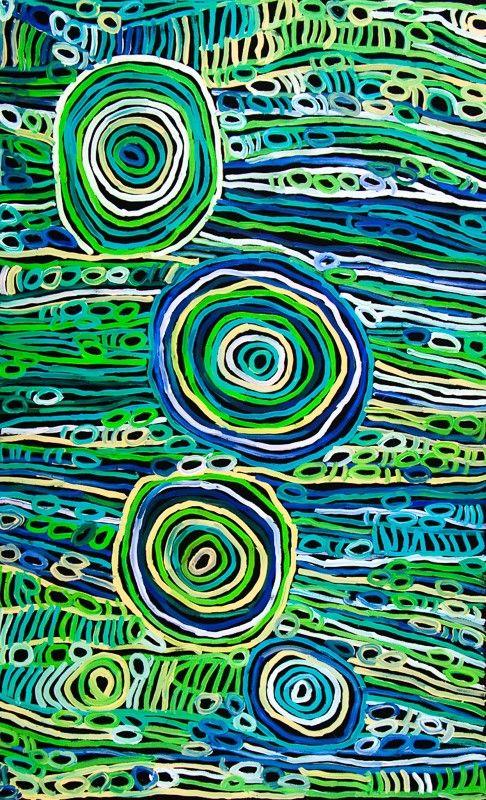 Minnie Pwerle - art aboriginal