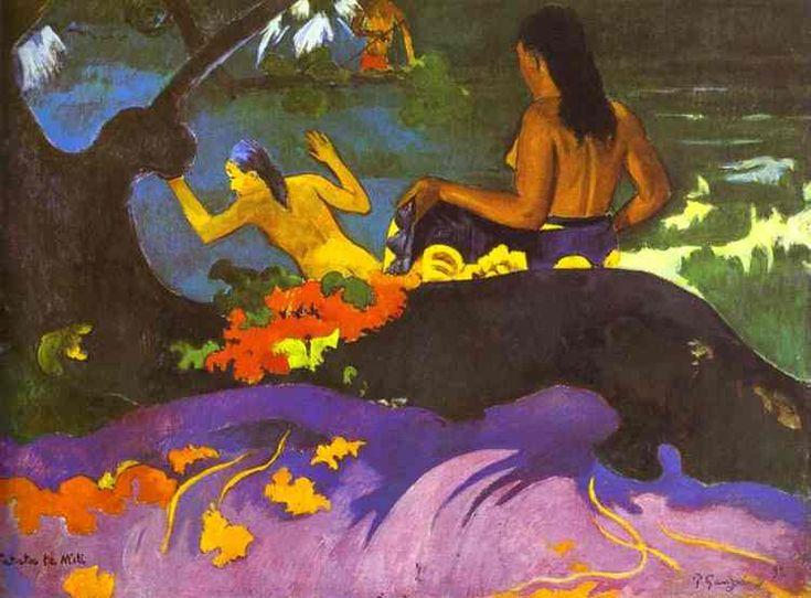 Paul Gauguin >> Vicino al mare