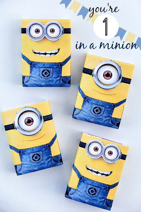 Despicable Me Minion Gifts for Kids #freeprintable #ValentinesDay #DespicableMe