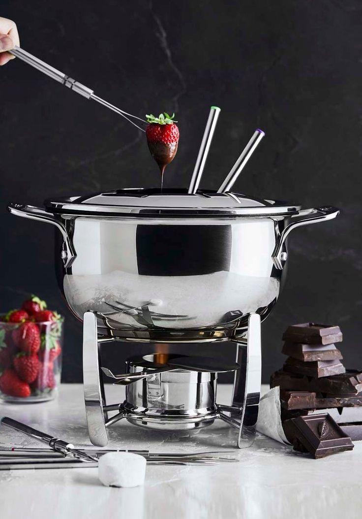 Allclad fondue pot williams sonoma williams sonoma