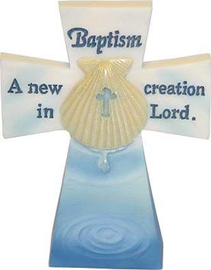 Baptism Cross, baby gift