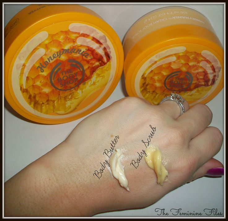The Body Shop's NEW Honeymania™ Product Review + #Giveaway! @The Body Shop USA #skincare