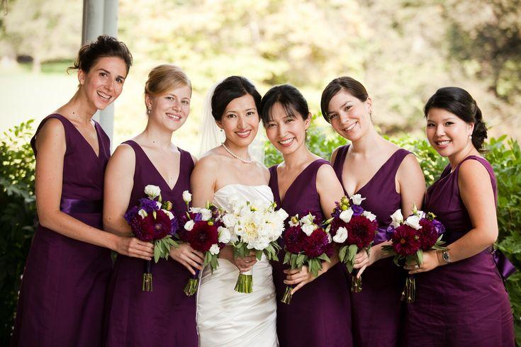 Grape-Bridesmaids-Dresses. Elizabeth Anne Designs.  Great name. I love this color.