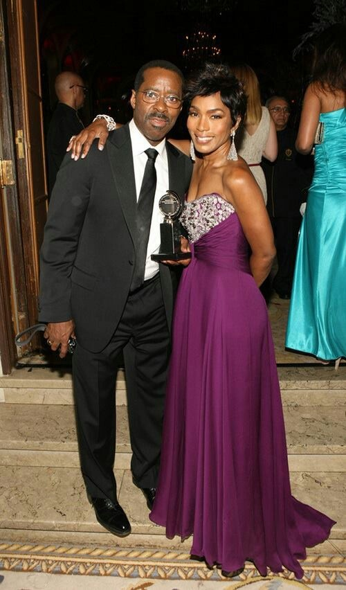 Courtney Vance and Angela Bassett