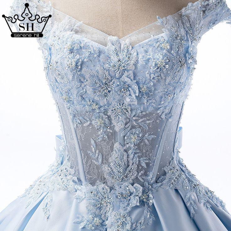 Azul Apliques de Cetim Vestido de Casamento Tiffany Azul Beading Tafetá Longo Até O Chão vestido de Baile Vestido de 2017 com 100% de Imagem Real