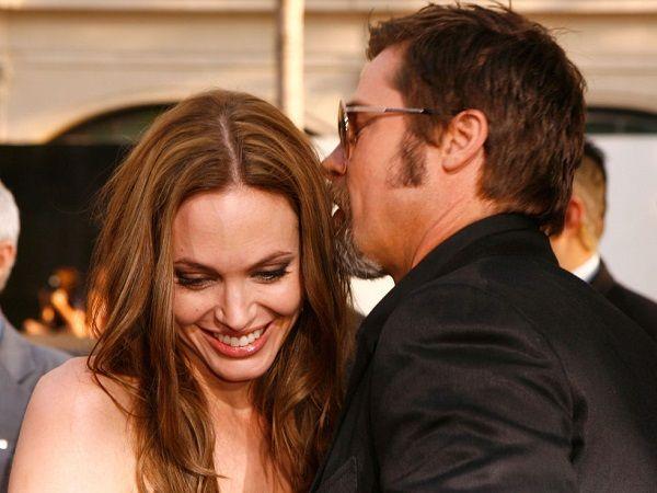 45 bilder av Angelia Jolie och Brad Pitt genom åren