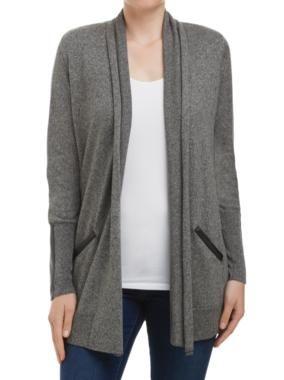 Sussan - Clothing - Knitwear - Cardigans - Contrast trim cardi