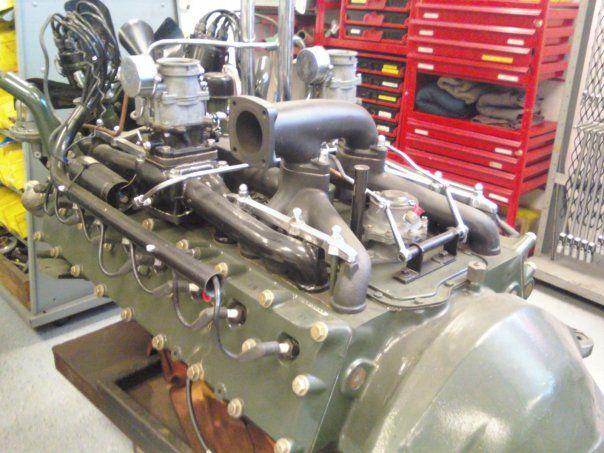 Ab Eec Ff Ff D Ba Ca Thoughts Fit on Cadillac Flathead V16 Engine
