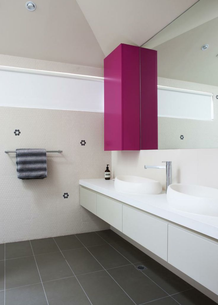 Colour and closed cabinet - Doherty Design Studio