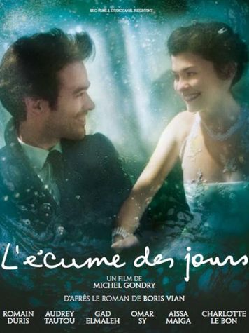 Movie from Michel Gondry and inspired by the novel Froth on the Daydream by the French author Boris Vian.