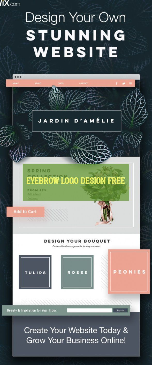 eyebrow logo design free * augenbrauen-logo-design…