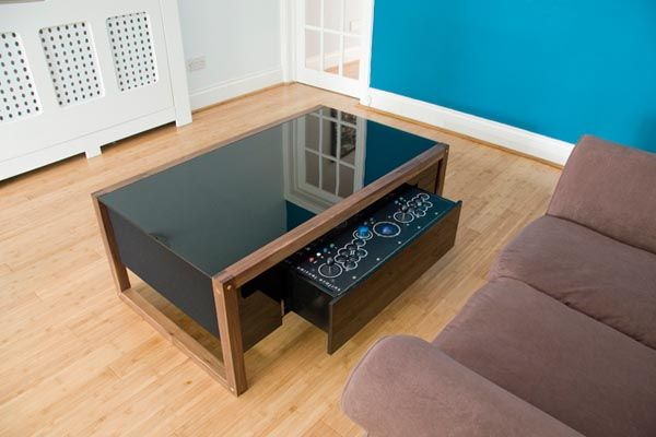 Surface Tension Arcade Game Coffee Table | Arcade Cabinet Ideas ...