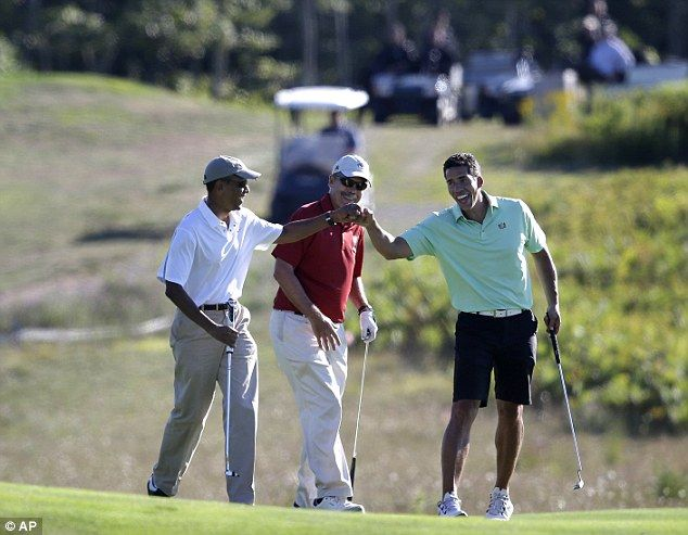 Directly after the press conference of the ISIS beheading of American journalist, James Foley, President Obama went golfing.