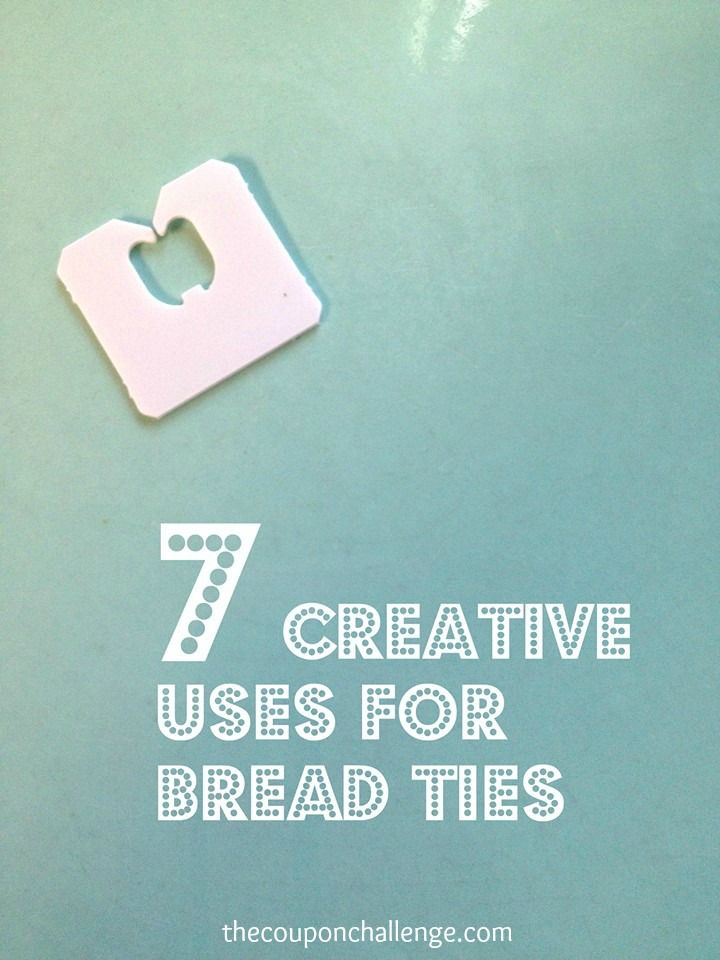 7 Ways To Use Bread Ties! - DIY & Crafts For Moms