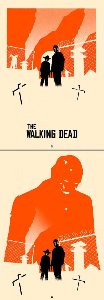 The Walking Dead Alt Poster set by Doaly