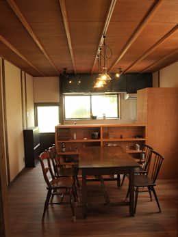 昼のダイニングキッチン2: SKY Lab 関谷建築研究所が手掛けたです。