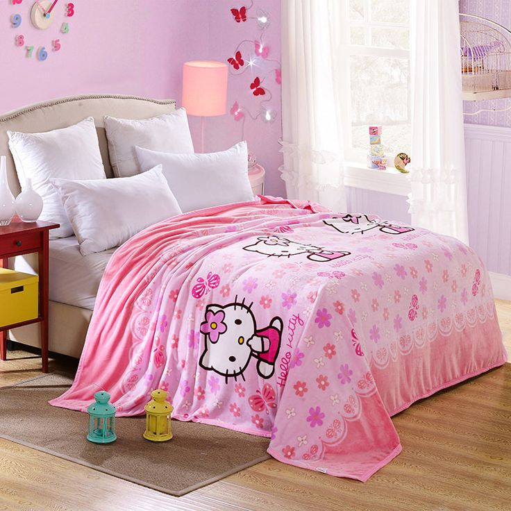 Hello Kitty Blanket 200x230cm //Price: $61.99 & FREE Shipping // World of Hello Kitty http://worldofhellokitty.com/thicken-winter-coral-fleece-blankets-hello-kitty-pattern-children-adults-for-giftquality-200x230cm-on-bed-sofa-pinic-blanket/    #collectibles