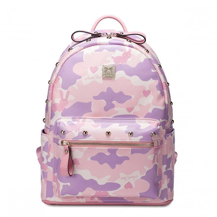 Delicate and Cute Light Pink Girl Backpack
