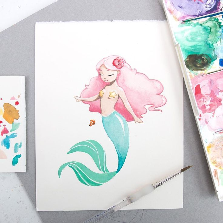 Mermaid Illustration - Mermay - Sketchinc | Beautiful Cases For Girls