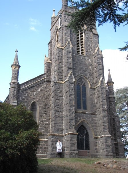 Stunning old church in Kyneton