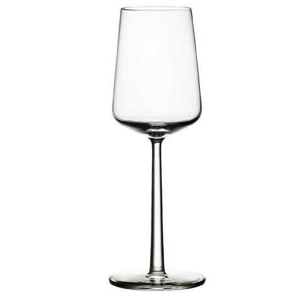 Essence white wine glass from Iittala by Alfredo Häberli