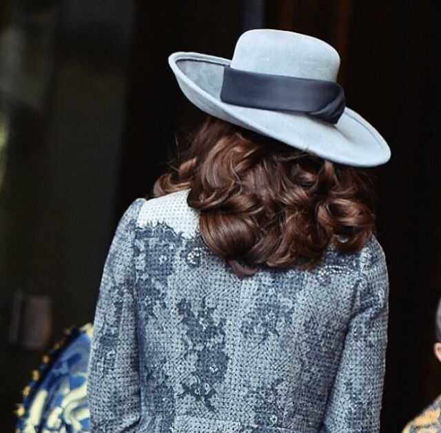 Kate's hair is always so stunning and elegant