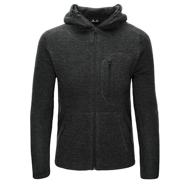 Tactical Hoodie Zipped Woollen Sweater for Men - Grey – Miltact.com