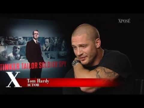 """Tom Hardy Interview - """"Is it cuddle time?"""" ;)"""