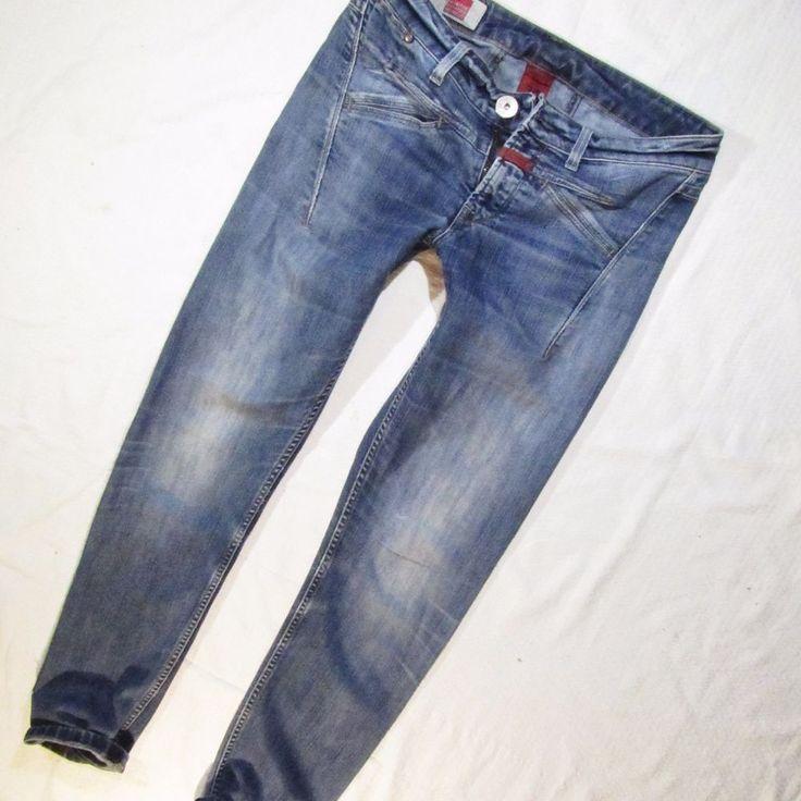 ladies jeans Marithe Francois  Girbaud skinny leg W30 Made in Italy #MaritheFrancoisGirbaud #SlimSkinny