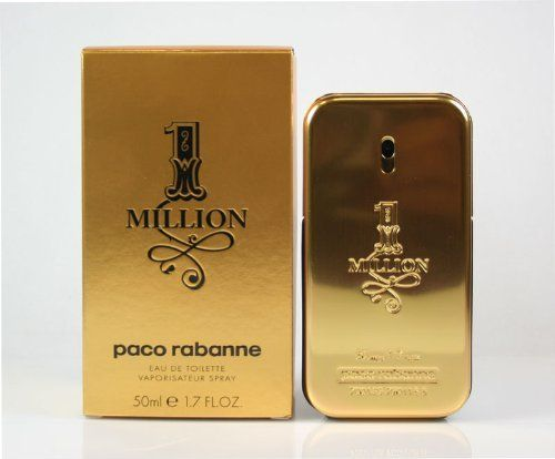 PACO RABANNE 1 MILLION by Paco Rabanne EDT SPRAY 1.7 OZ by Paco Rabanne. $59.99. Paco 1 Million by Paco Rabanne for men. New in Box. **No U.S. Sale Tax** 1.7 oz Eau De Toilette EDT Spray. EDT SPRAY 1.7 OZ Design House: Paco Rabanne Year Introduced: 2008 Fragrance Notes: Mint Grapefruit Rose Patchouli Amber Cinnamon White Woods Blond Leather Blood Orange Spice Notes