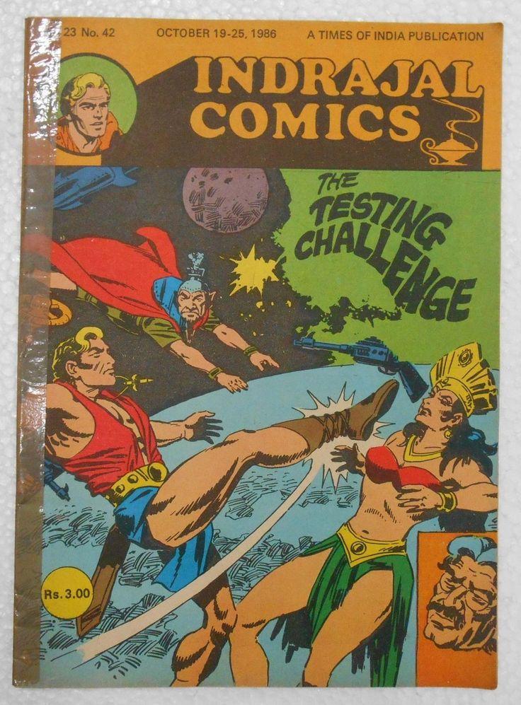 Vintage Indrajal Comics The Testing Challenge Super Hero Flash Gordon C3   eBay