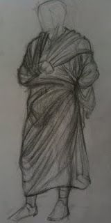 Drawing From Life - 2012 - Statue, Achilleion Palace (Museum), Corfu, Greece