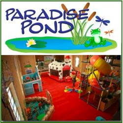 Paradise Pond - And indoor play area at First Baptist Church of Grapevine