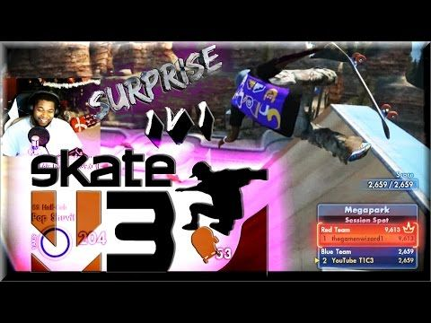 Skate 3 1 v 1 | Surprising a Fan (Ft AyeDueces & Rise Vital)
