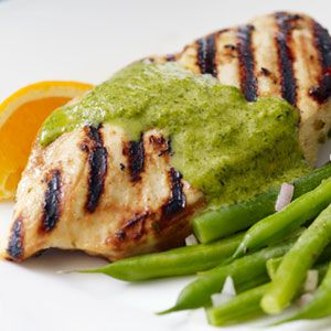 These lime and spice grilled chicken breasts are perfect for summer grilling.