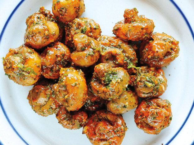 Pickled Mushrooms From 'Bar Tartine'