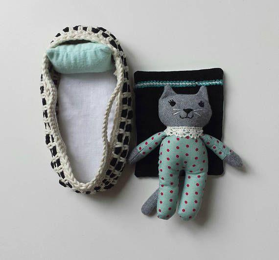 Rag Doll Kitten in Moses Basket