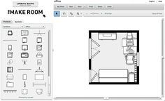 Fun website find…The Make Room (Planner) | Plan the room layout