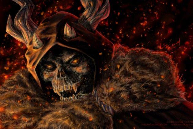 The Horned King (The Black Cauldron)