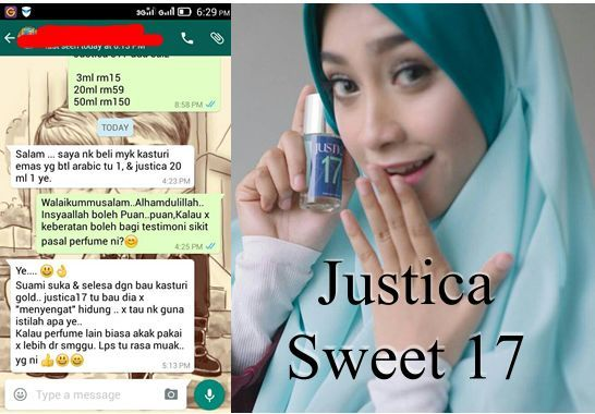 Hello :) Justica Sweet 17 by Kasturi Emas. For Her: Happy Sweet ...