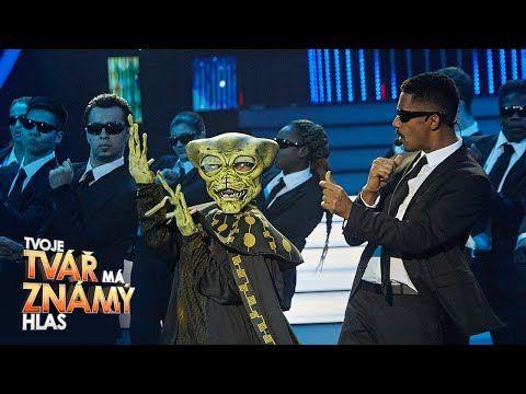 """Yemi A.D. jako Will Smith - """"Men In Black""""   Tvoje tvář má známý hlas - YouTube"""
