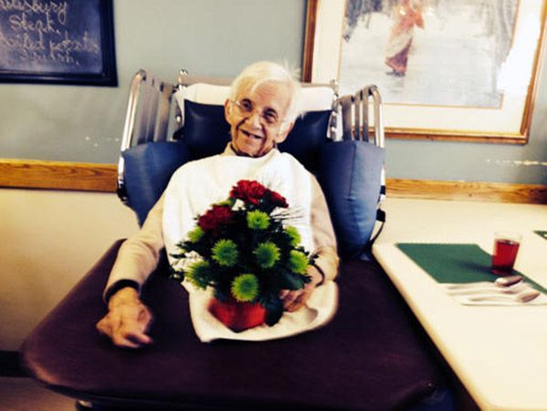 "news article: ""over $10,000 of flowers anonymously donated to senior citizen home"" !!!"